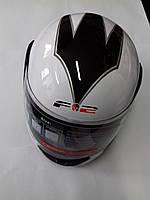 Шлем интеграл 'F2' #825-2 White, фото 1