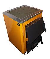 КОТВ-14П твердотопливный котел с плитой