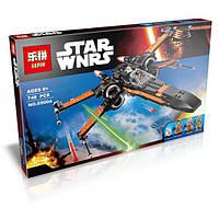 """Конструктор Lepin 05004 """"Истребитель По"""" (аналог Lego Star Wars 75102), 748 дет, фото 1"""
