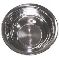 Тарелка 20.5x4.5см из нержавеющей стали MFH серебристого цвета