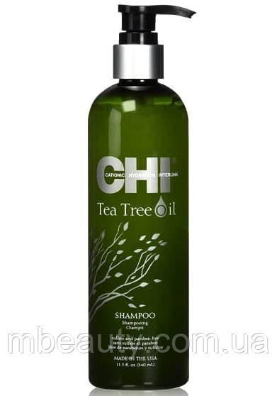 Шампунь с маслом чайного дерева CHI Tea Tree Oil Shampoo 355мл