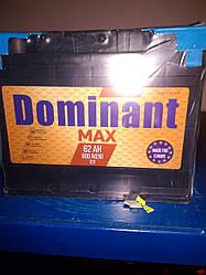 Акумулятор DOMINANT MAX 12V 62AH 600A