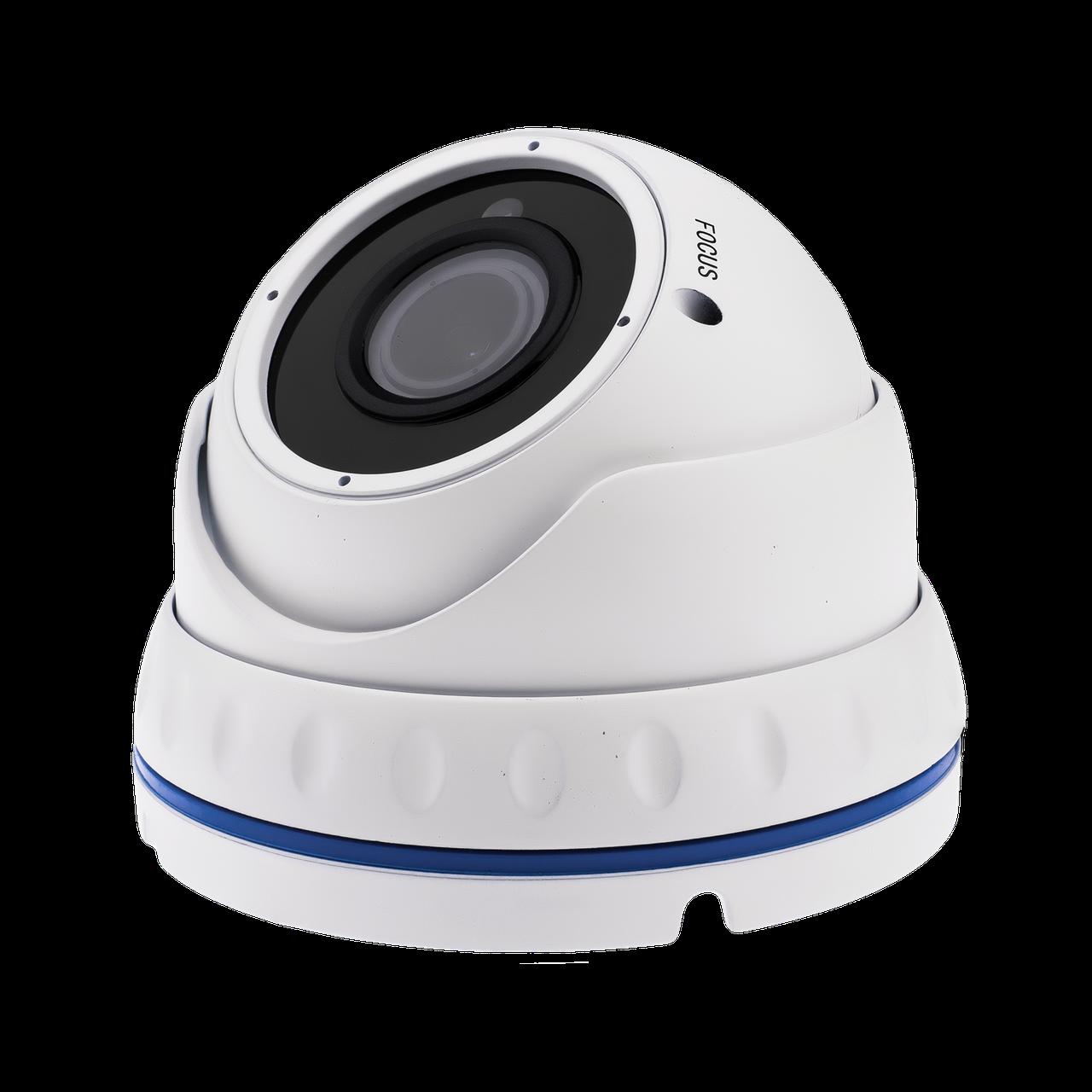 Гибридная Антивандальная камера для внутренней и наружной установки GreenVision GV-067-GHD-G-DOS20V-30 1080p