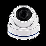 Гибридная Антивандальная камера для внутренней и наружной установки GreenVision GV-067-GHD-G-DOS20V-30 1080p, фото 3