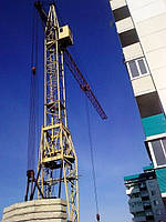 Монтаж башенного крана (КБ)