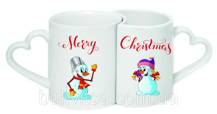 Чашки парні «Merry Christmas», фото 2