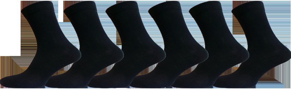 """Чоловічі шкарпетки ХБ чорні """"lomani"""""""