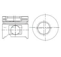 Поршень STD Toyota Land Cruiser 4,2D/TD 92- Arco