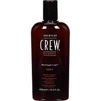 American Crew Средство по уходу за волосами и телом 3 в 1 Американ Крю Объем: 450 мл