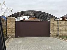 Заборы и ворота из профнастила, фото 2