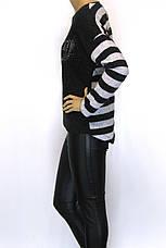 Жіноча Кофта Світшот в полоску Cocon, фото 2