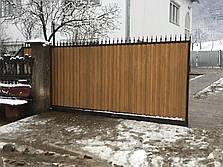 Заборы и ворота из профнастила, фото 3