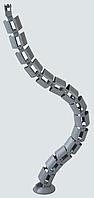Кабель менеджер кабельный органайзер гибкий для проводов от офисной техники кабель канал гибкий