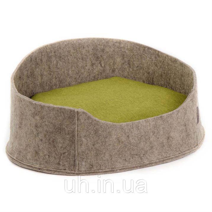 """Лежак для собак и кошек Pet Fashion """"БАЛИ"""" коричневый"""