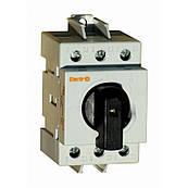 Рубильник модульный 3 полюса 25А 1-0 230/400В