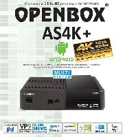 Спутниковый ресивер Openbox AS4K+, фото 1