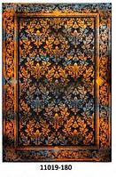 Ковёр цветной с рисунком узорные ромбы разные, фото 1