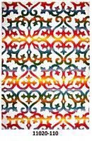 Ковёр цветной с рисунком узоры разные