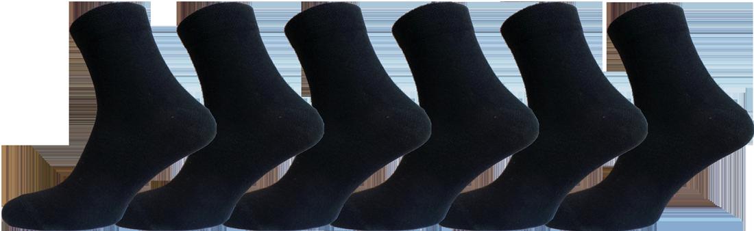 """Шкарпетки чоловічі чорні середній паганок """"lomani"""""""