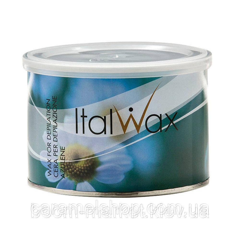 Теплый воск для депиляции в банке ItalWax Azulene 400 мл