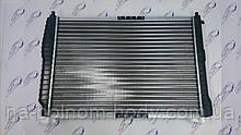 Радиатор охлаждения с кондиционером Авео 1.6; КМС