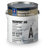Промислове покриття для металу та бетону, 2К, Шервін Вільямс (MACROPOXY 646) А 3,78 л + В 3,78 л