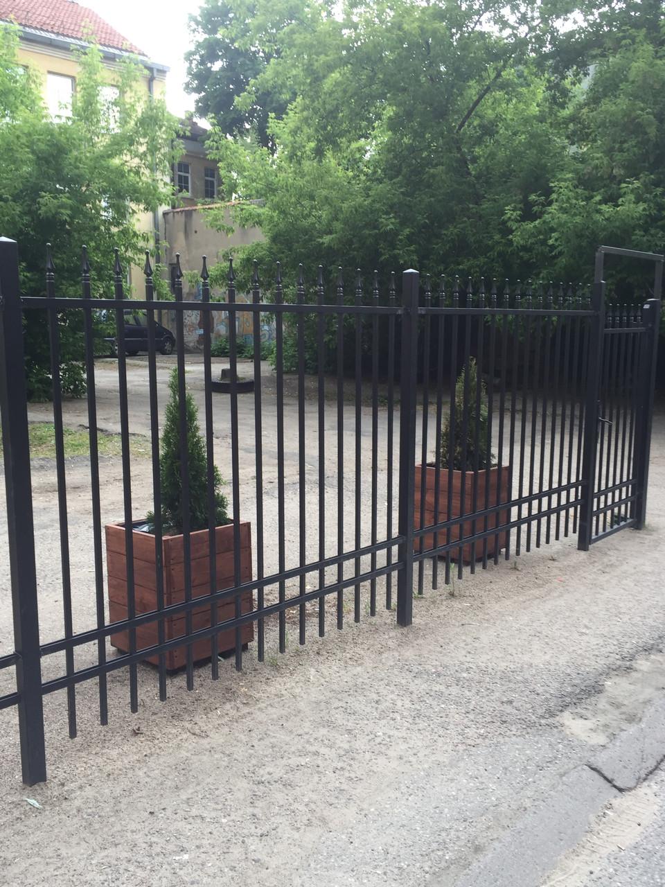 Заборы и ворота сварные