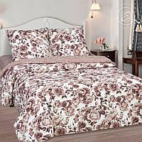 """Комплект постельного белья """"Визави коричневый"""", поплин, фото 1"""