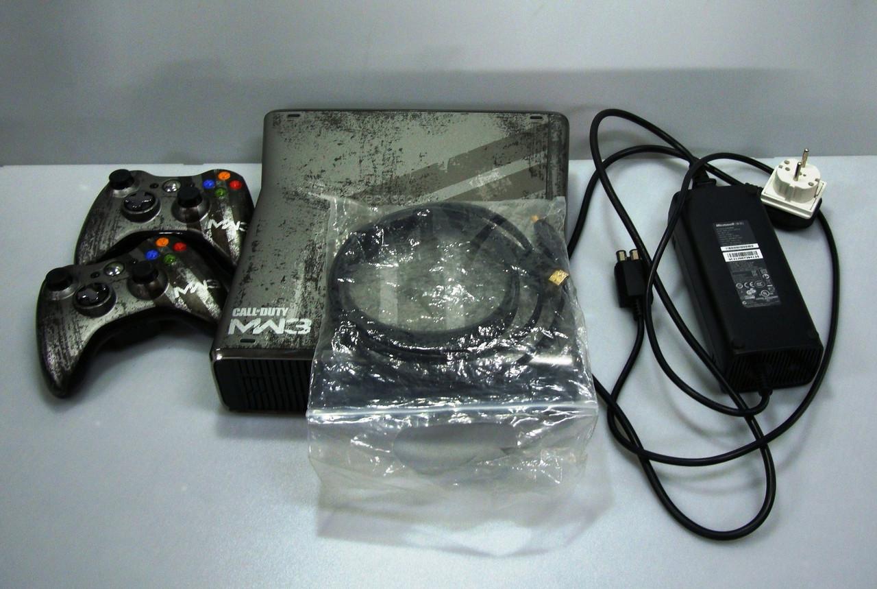 Игровая приставка Xbox 360 Limited Edition — Call of Duty MW3 крутая комплектация