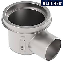 Промисловий трап Blucher 726.502.110, нержавіюча сталь, горизонтальний вихід DN110