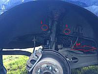 Подкрылок задний левый для Hyundai Elantra HD '06-10 (Novline)
