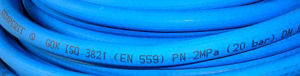 Шланг SEMPERIT 2017 ISO 3821  DN9 (синій)