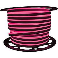 Светодиодный LED гибкий неон PROLUM™ 2835\120 IP68 220V, Розовый