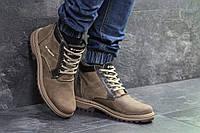 Мужские зимние ботинки Columbia 6987 коричневые, фото 1