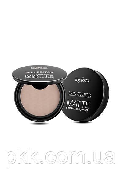 Пудра для лица TopFace Skin Editor Matte Finish PT263