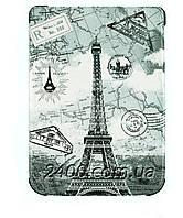 Обложка - чехол для электронной книги PocketBook 616 Basic Lux 2, 627 Touch Lux 4, 632 с графикой Париж