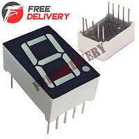 7-сегментный индикатор 0.56'' красный 10pin катод Arduino