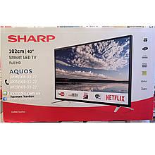 Телевизор Sharp LC-40FI5442E (AM200Гц, FullHD, Smart Aquos Net+, HarmanKardon 20Вт, DVB-C/T2/S2)