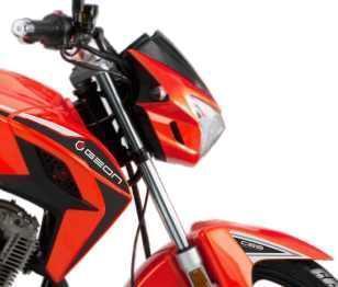 Мотоцикл GEON Pantera N200 Оранжевый