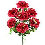 Букет искусственных роз, 53 см, фото 2