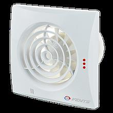 Вентилятор осевой Вентс Квайт 100, вытяжной, мощность 7,5Вт, объем 97м3/ч, 220В, гарантия 5лет