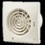 Вентилятор осевой Вентс Квайт 125 ВТН, таймер, датчик влажности, выключатель, 17Вт,185м3/ч,220В, гарантия 5лет, фото 3