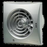 Вентилятор осевой Вентс Квайт 125 ВТН, таймер, датчик влажности, выключатель, 17Вт,185м3/ч,220В, гарантия 5лет, фото 4