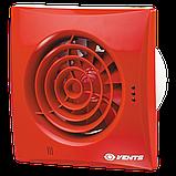 Вентилятор осевой Вентс Квайт 125 В, микровыключатель, вытяжной, 17Вт, 185м3/ч, 220В, гарантия 5лет, фото 2