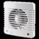 Вентилятор осевой Вентс 100 Силента-М ВК, микровыключатель, клапан,7Вт,  78м3/ч, 220В, гарантия 5лет, фото 2