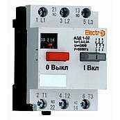 Автоматический выключатель защиты двигателя АЗД 1-32 3 полюса 1,6А 380В с доп. контактом