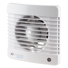 Вентилятор осевой Вентс 125 Силента-М ТРЛ, таймер, датчик движения, подшипник,9,1Вт, 152м3/ч, 220В, гар-я 5лет