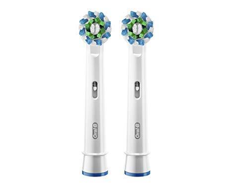 Змінні насадки для електричної зубної щітки ORAL-B EB50 CrossAction 2шт