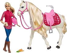 Барби наездница и танцующая лошадка
