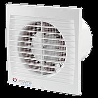 Вентилятор осевой Вентс 100 Силента-С, вытяжной, мощность 7Вт, объем 78м3/ч, 220В, гарантия 5лет